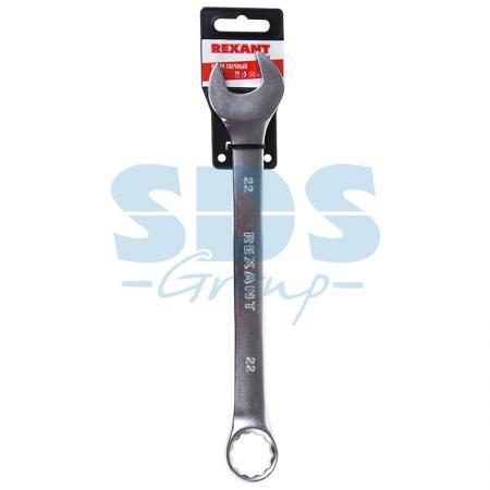 Ключ комбинированный 22 мм Rexant рулетка rexant профи