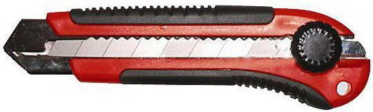Нож VIRA 831401 25мм 2-компонентная рукоятка Twist-lock