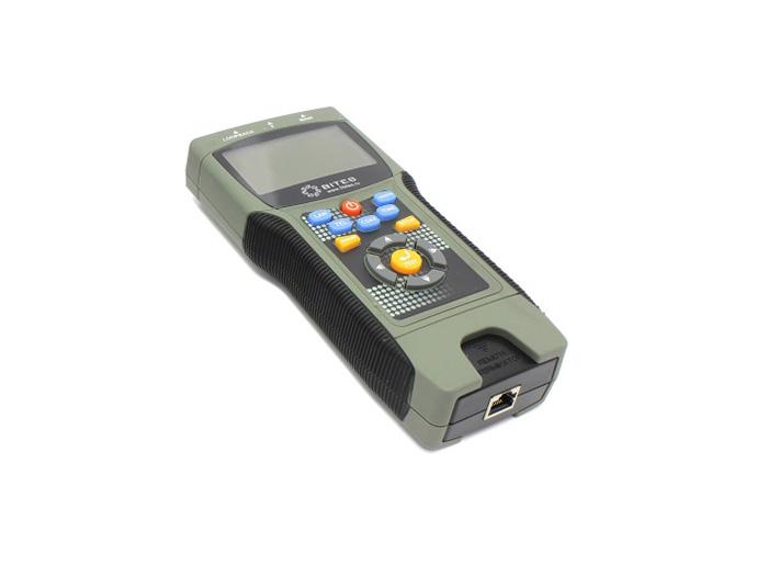 Тестер кабеля 5bites EXPRESS LY-CT030 PRO многофункциональный для RJ11/12/45/BNC, TDR, LCD [супермаркет] джингдонг ли pro многофункциональный оленьей полотенце 2 1 family pack