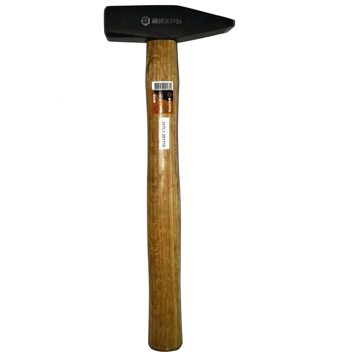 Молоток Вихрь 600гр. Квадратный боёк, деревянная ручка вихрь [73 6 8 5] молоток 400гр квадратный боёк фиберглассовая двухкомпонентная ручка