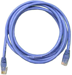 Сетевой кабель 1м UTP 5е Neomax NM13001-010B синий, медный, многожильный(7х0,2мм) patch cord, PVC, 24AWG