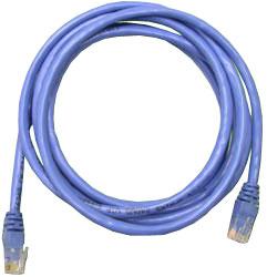 Сетевой кабель 3м UTP 5е Neomax NM13001-030B синий, медный, многожильный(7х0,2мм) patch cord, PVC, 24AWG