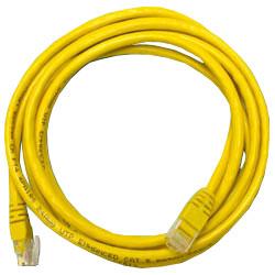 Сетевой кабель 5м UTP 5е Neomax NM13001-050Y желтый, медный, многожильный(7х0,2мм) patch cord, PVC, 24AWG кабель patch cord utp 5м категории 5е синий nm13001050bl