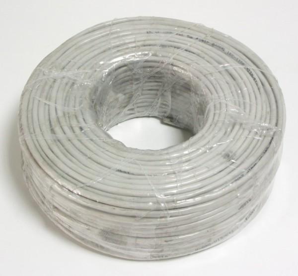 Сетевой кабель бухта 100м UTP 6 Telecom Омедненный кабель nymбм j 3х1 5 ту серый 100м мастертока 10338