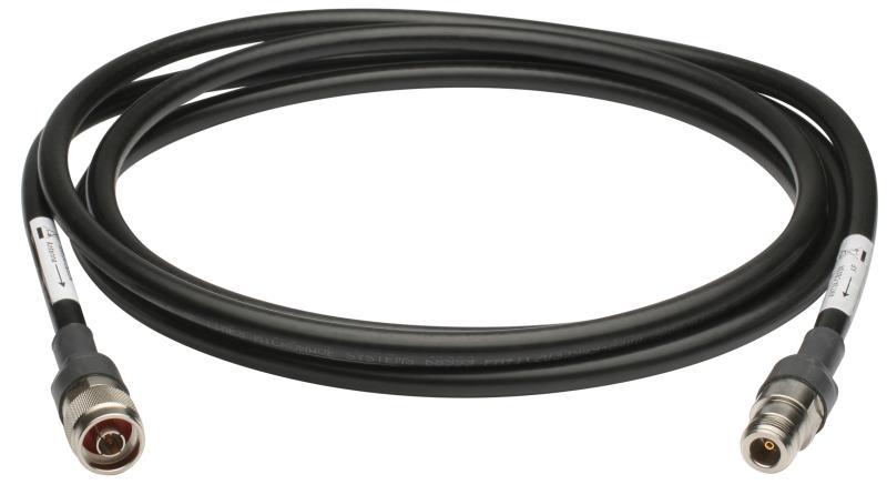 Кабель ВЧ STD-N Plug/Jack((M/F) 3м разъемы D-Link ANT24-CB03N Удлинитель антенны