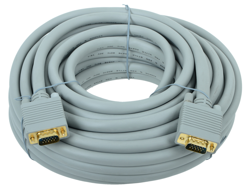 Фото - Кабель Belsis VGA/SVGA вилка - VGA/SVGA вилка , длина 15 м. BW1477 rliable dropping shipping 15 pin vga svga gender changer adaptor connector coupler male to female
