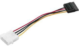 Кабель питания Serial ATA 150/300 внутренний, 0.2 м, Hama H-41841 кабель hama h 41841 питания serial ata 150 300 внутренний 0 2 м