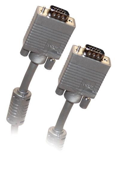 Фото - Кабель Belsis VGA/SVGA вилка - VGA/SVGA вилка , длина 1.8 м. BW1475 rliable dropping shipping 15 pin vga svga gender changer adaptor connector coupler male to female