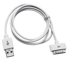 Кабель USB Gembird/Cablexpert AM/Apple, для iPhone/iPod/iPad, 1м, белый, блистер кабель для ipod iphone ipad adata amfipl 100cm cbk