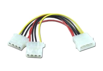 Кабель питания Molex(4pin) -2хMolex(2x4pin) ORIENT C397 5+12V блок питания accord atx 1000w gold acc 1000w 80g 80 gold 24 8 4 4pin apfc 140mm fan 7xsata rtl