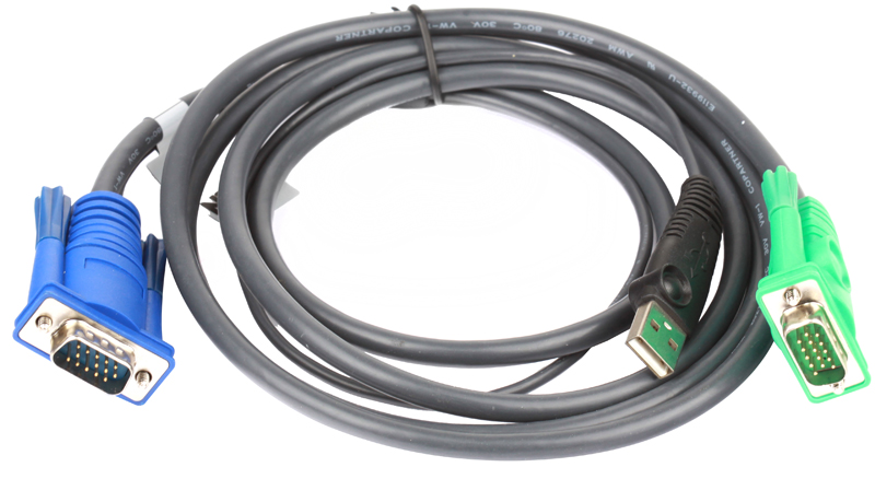 Кабель ATEN KVM Cable 2L-5202U Кабель для KVM: USB(Am)+DB15(m) (PC) -на- SPHD15(m) (KVM),1.8м uno r3 unor3 board mega328p atmega16u2 with 1 pc usb cable for arduino compatible free shipping dropshipping