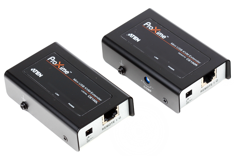 Удлинитель, SVGA+KBD+MOUSE USB ATEN, 100 метр., HD-DB15+USB A-тип/USB B-тип, Female, c KVM-шнуром USB, Б.П. 220) 5V (CE100-A7-G) удлинитель kvm aten ce100 a7 g