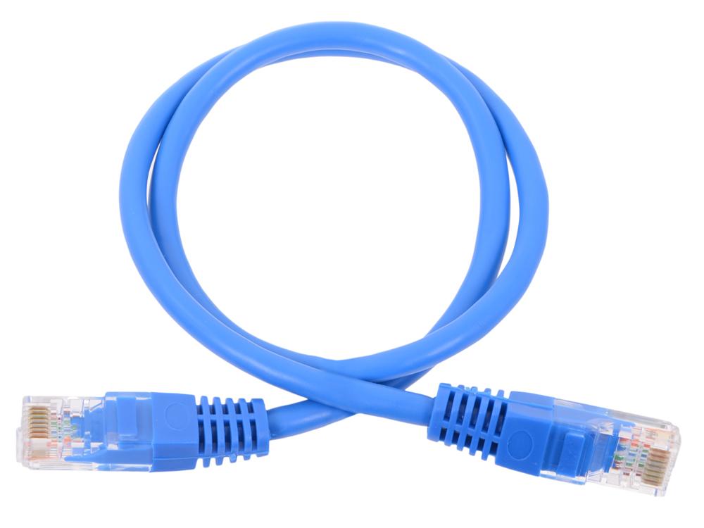 Патч-корд литой Neomax 13001-005B UTP 0.5м, кат. 5е - синий штатив cullmann neomax 220 52522