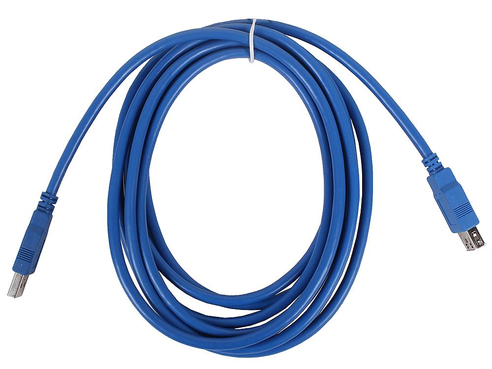 Кабель удлинительный VCOM USB3.0 Am-Af 3m (VUS7065-3M) кабель удлинительный vcom usb3 0 am af 3m vus7065 3m