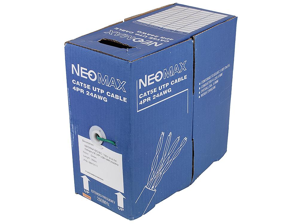 цена Кабель Neomax NM10111 UTP 200Mhz LSZH,4 пары,Кат. 5е, 305