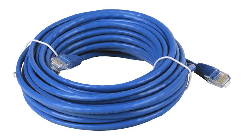 все цены на Патчкорд литой Telecom UTP кат.5е 10м., синий (NA102-L-10M)