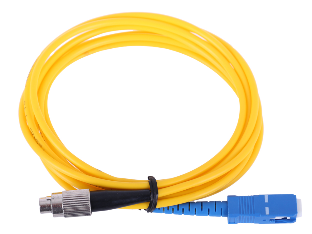 цена на Оптический шнур FC-SC 2м, UPS, одномодовый Vcom VSU102-2M Simplex