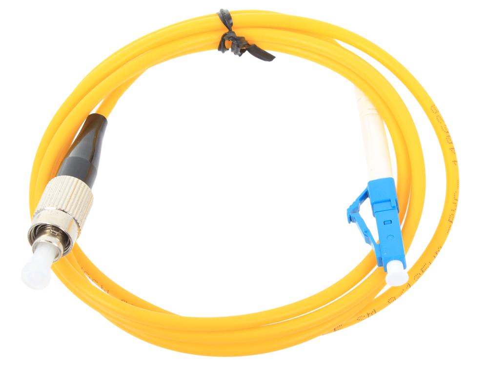 Оптический шнур Vcom, LC-FC,UPC, одномодовый,Simplex,(VSU301-1M)