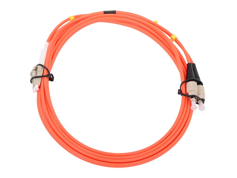 Оптический шнур LC-FC 3м, UPS, одномодовый Vcom VSU301-3M Simplex патч корд vcom lc fc ups волоконно оптический шнур одномодовый simplex 3м vsu301 3m