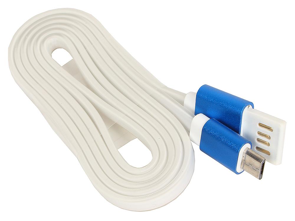 Кабель USB 2.0 Cablexpert, AM/microBM 5P, 1м синий металлик CC-mUSBb1m кабель usb 2 0 am microbm 1м gembird золотистый металлик cc musbgd1m page 8