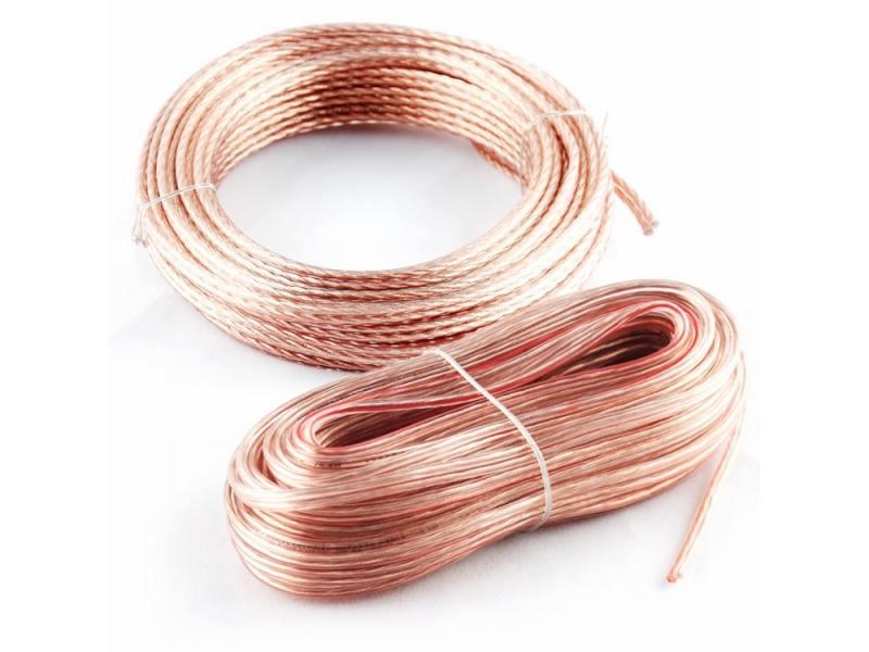 Акустический кабель Kicx SCC-1612 16AWG 12м прозрачный акустический кабель kicx scc 1612