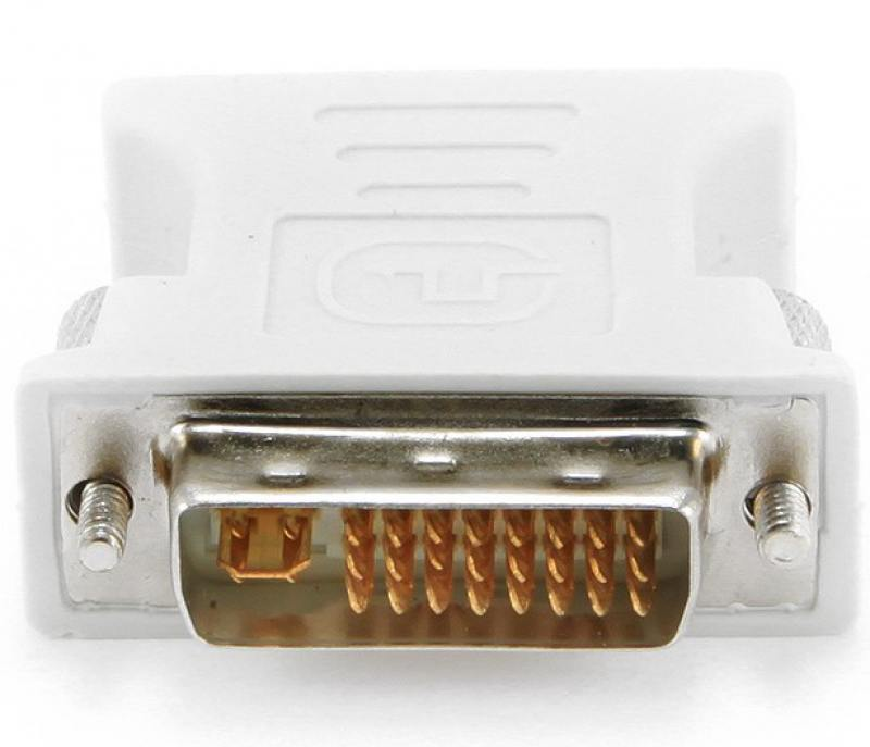 все цены на Переходник DVI-VGA Gembird A-DVI-VGA онлайн