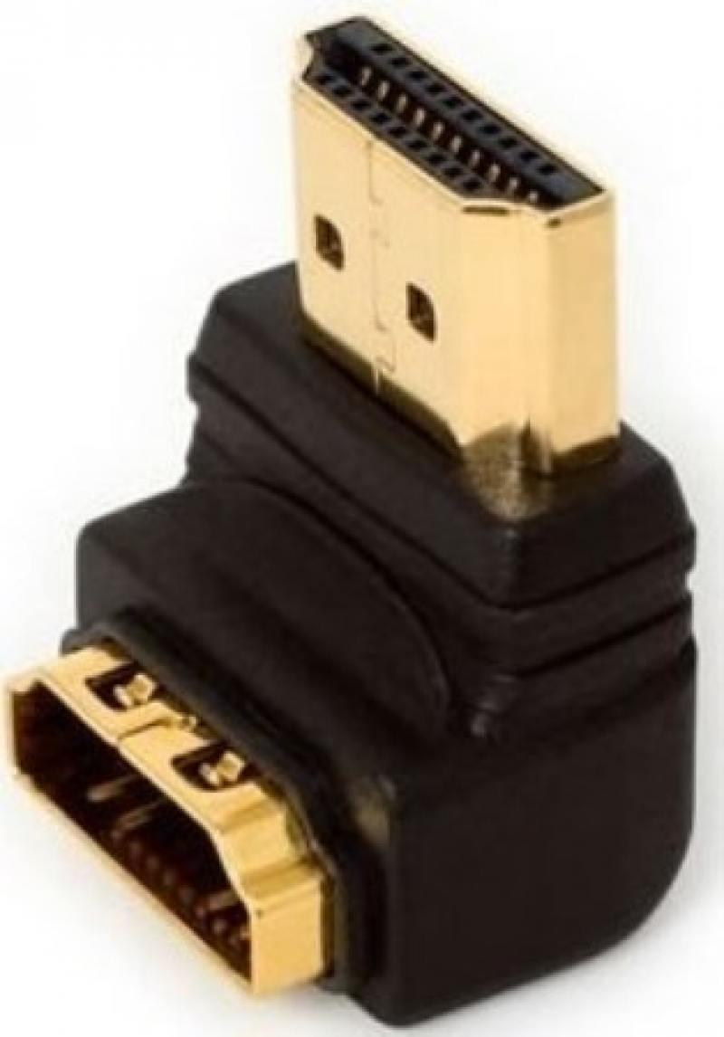 Фото - Переходник HDMI- HDMI 5bites позолоченные контакты г-образный HA1005 аксессуар mobiledata hdmi 4k v 2 0 плоский 1 8m hdmi 2 0 fn 1 8