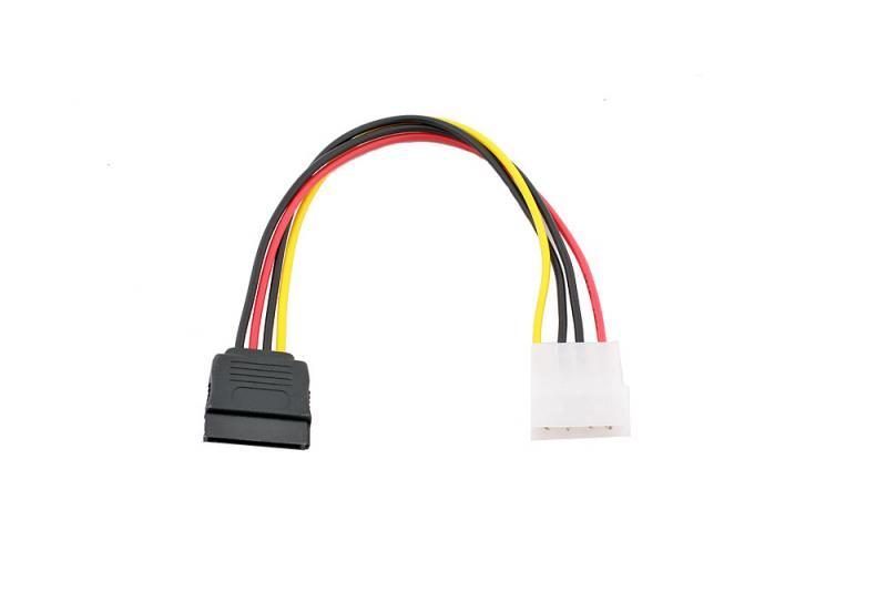Переходник питания SATA-устройств (1big ->1SATA) VCOM <VPW7571>