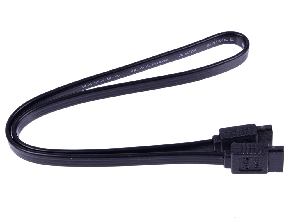 Кабель 5bites SATA3-7PL45S Serial ATA V3.0 6Гбит/с защелка 0.45м 1pcs serial ata sata 4 pin ide to 2 of 15 hdd power adapter cable hot worldwide