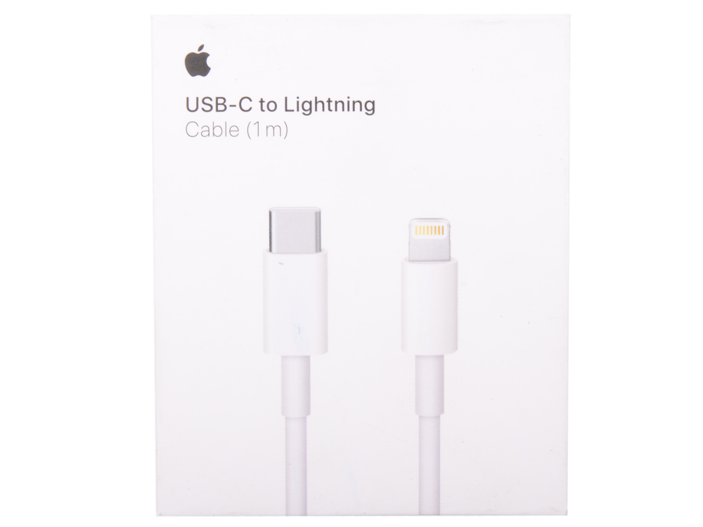 Переходник Apple Lightning to USB-C Cable (1m) MK0X2ZM/A переходник apple lightning на 3 5mm jack