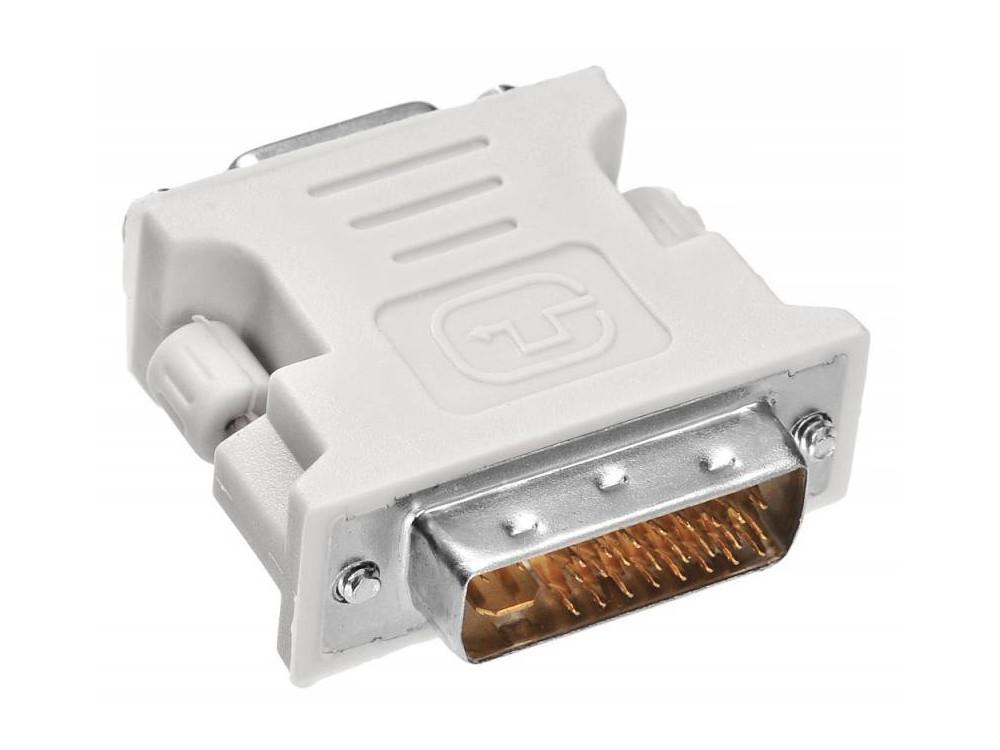 Переходник Buro DVI-I(m)-VGA(f) VGA-15F/DVI-I-PLUG переходник buro dvi i m vga f vga 15f dvi i plug