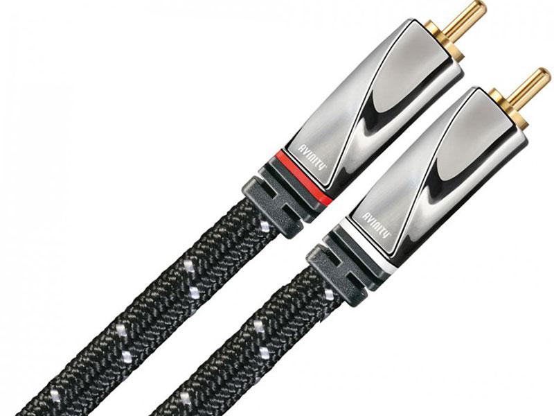 Кабель соединительный 2.0м Hama Avinity 2xRCA (M) - 2xRCA (M) позолоченные контакты черный H-107529 кабель usb 2 0 a micro b 0 75м позолоченные контакты черный hama h 78490