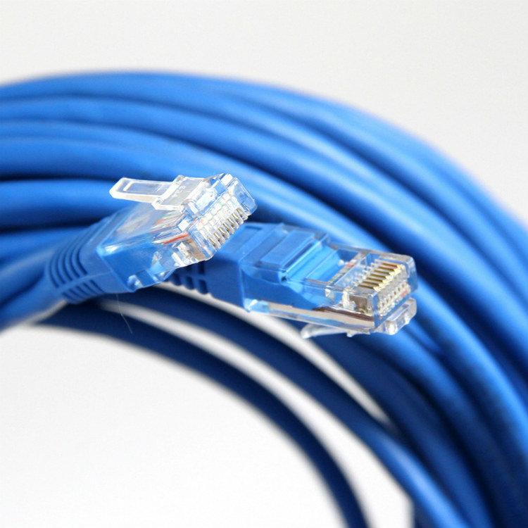Патч-корд литой Aopen/Qust UTP кат.5е 3м синий (ANP511_3M_B)