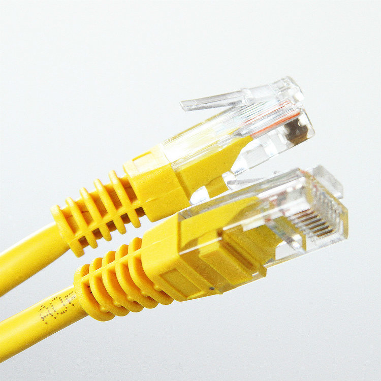 Патч-корд литой Aopen/Qust UTP кат.5е 5м желтый (ANP511_5M_Y)