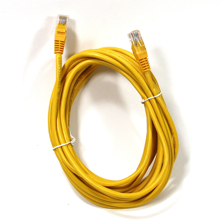 Патч-корд литой Aopen/Qust UTP кат.5е 5м желтый (ANP511_5M_Y) патч корд bion utp кат 5е 5м серый bnpp12 5m