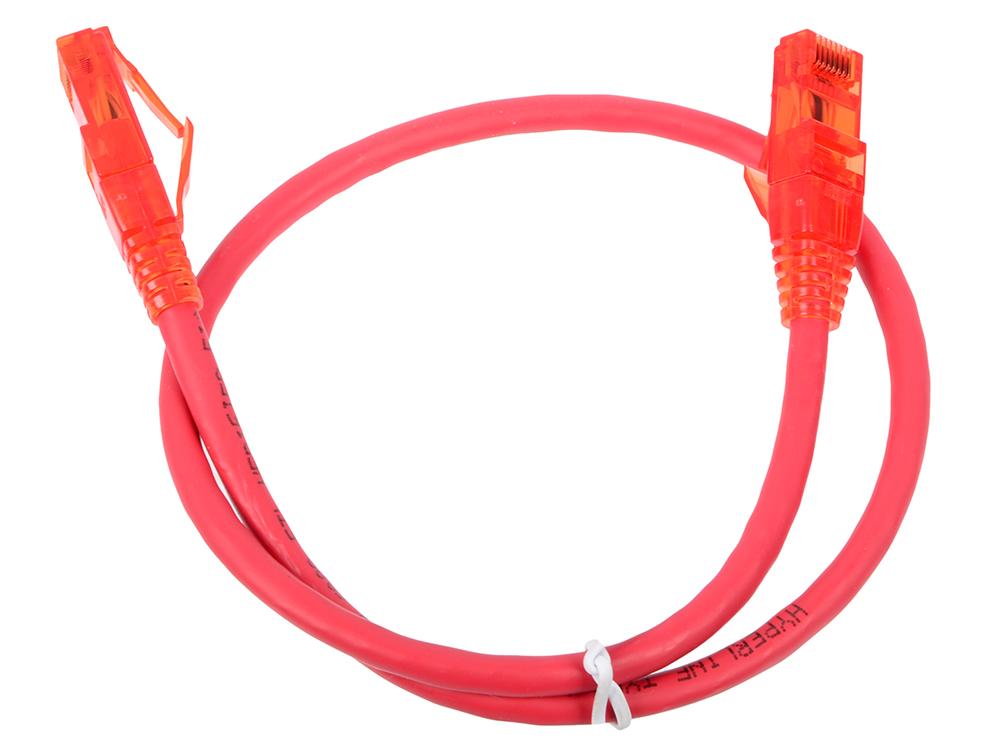 Патч-корд UTP 5E категории 0.5м Hyperline PC-LPM-UTP-RJ45-RJ45-C5e-0.5M-LSZH-RD красный e12q sclcr06 coolant boring bars indexable carbide turning tool lathe blade cnc tool holder dia 10mm bar for ccgt0602 insert