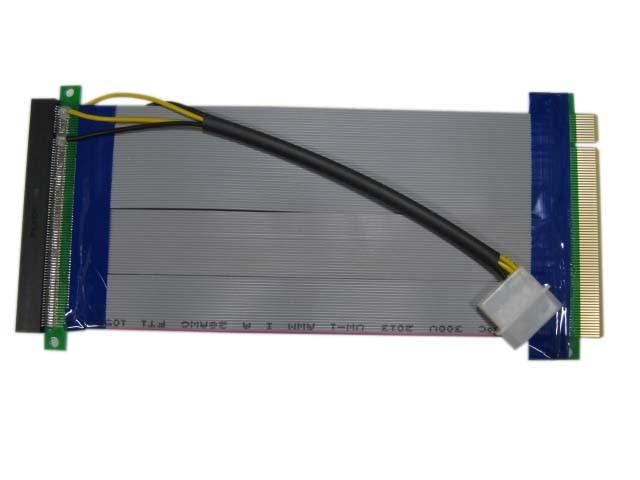 Переходник PCI-E X16 M -PCI-E X16 F питание Espada EPCIEX16power 40029