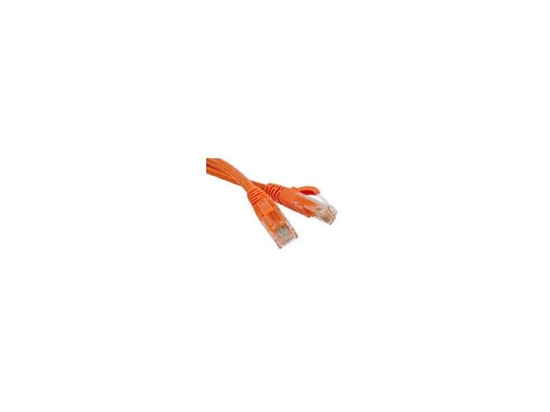 Патч-корд UTP 5E категории 1м Hyperline PC-LPM-UTP-RJ45-RJ45-C5e-1M-LSZH-OR оранжевый цена и фото