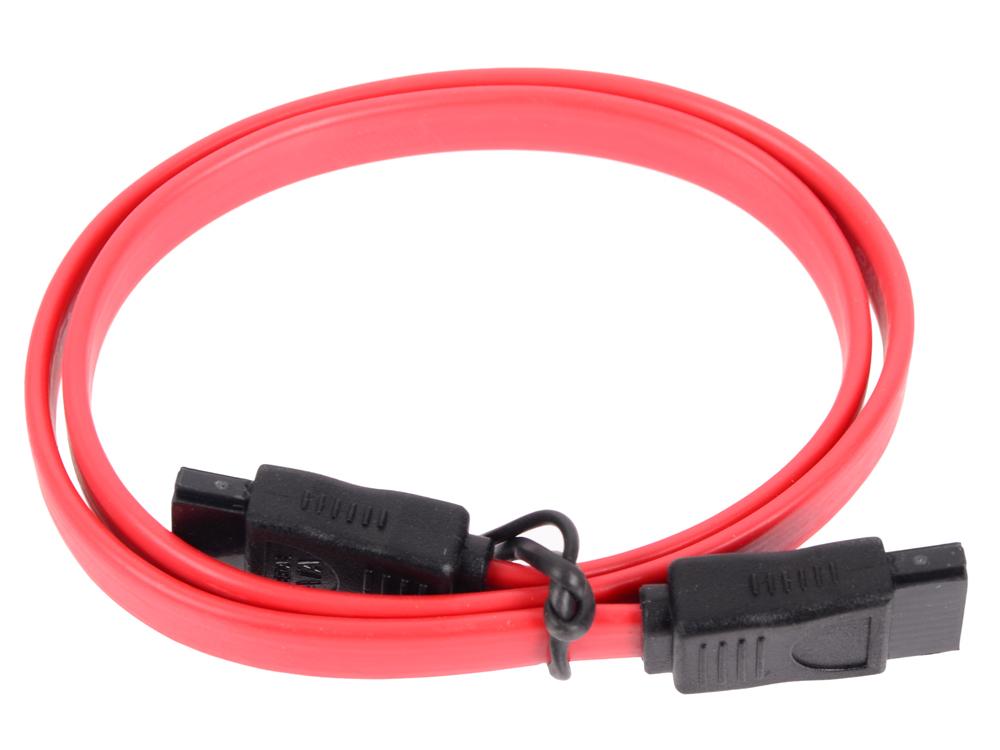 Кабель Greenconnect SATAII - SATAII до 3Gbps 0.5м GC-ST101-0.5m