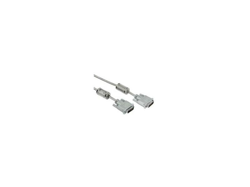 Кабель DVI Dual Link (m-m) H-20156 1.8 м кабель dvi dvi 1 8м dual link gembird ферритовые кольца cc dvi2 6 6c