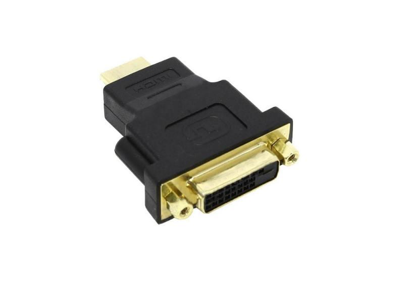 Переходник HDMI- DVI-D 5bites позолоченные контакты DH1807G адаптер переходник atcom dvi d vga at9214 позолоченные контакты