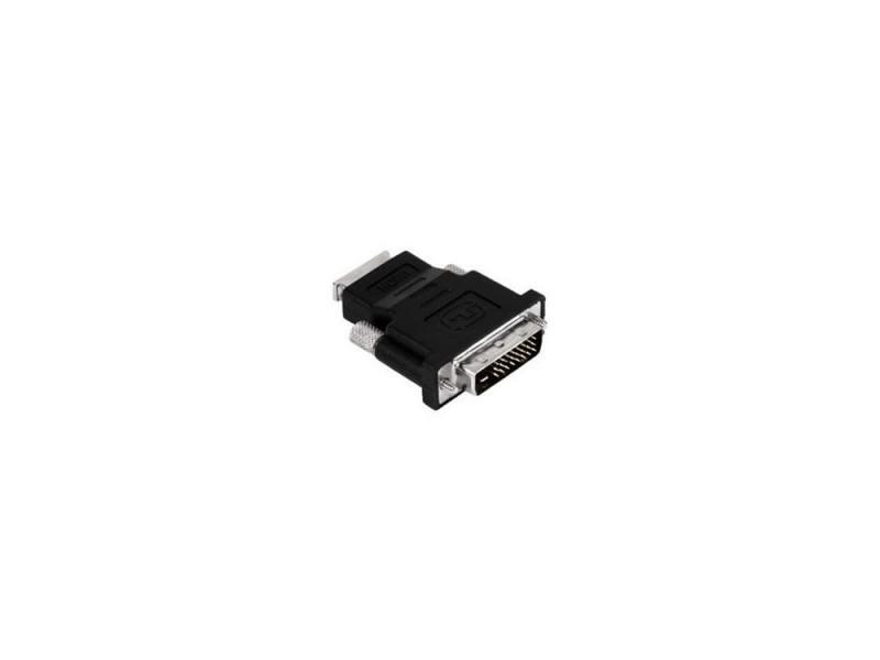 Переходник Buro HDMI-DVI-D позолоченные контакты черный кабель hdmi dvi d 10м buro позолоченные контакты ферритовые кольца hdmi 19m dvi d 10m