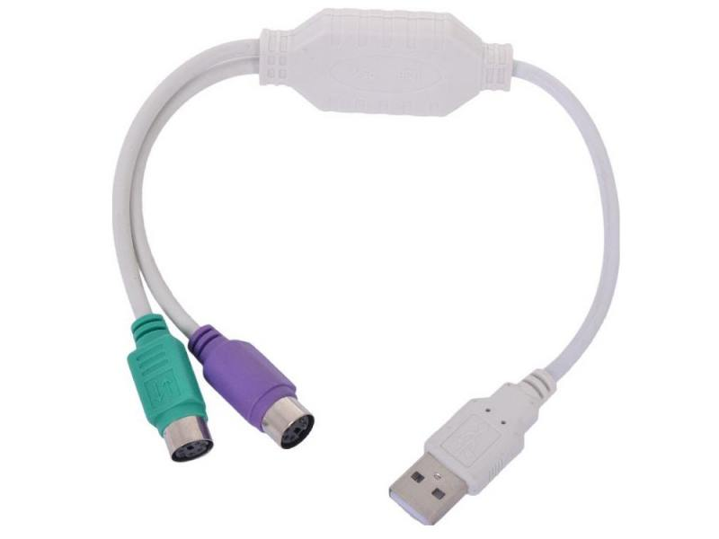 Конвертер Gembird USB Am-2xPS/2 UAPS12 насадка обогреватель конвертер следопыт