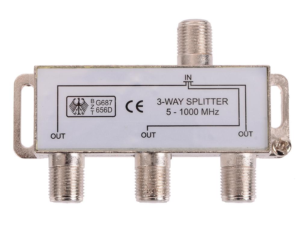 Фото Антенный разветвитель Belsis SP3067 (1 на 3 направления, 1'000 МГц) кабель антенный belsis 5m bgl1173