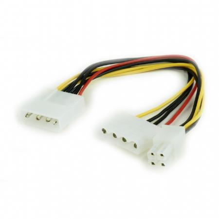 Разветвитель питания Gembird Molex-Molex + ATX 4 пин CC-PSU-4 синхронизатор запуска двух блоков питания 2 psu atx24pin molex oem