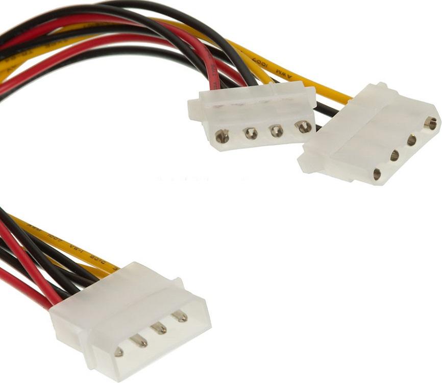 Разветвитель питания Ningbo TL-C29 Molex 1x5.25-2x5.25 кабель питания ningbo molex sata