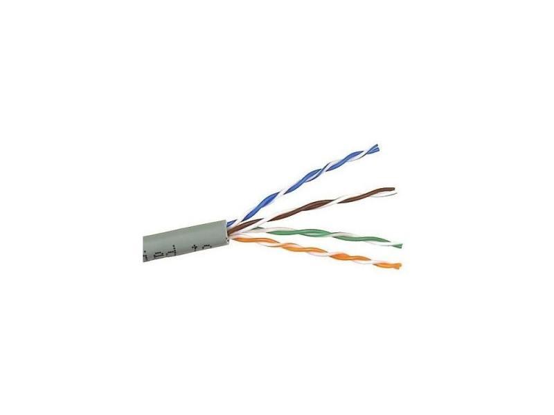 Кабель Telecom UTP 4 пары категория 5e CU 305м серый UTP4-TC1000C5EM-CU-IS цена и фото