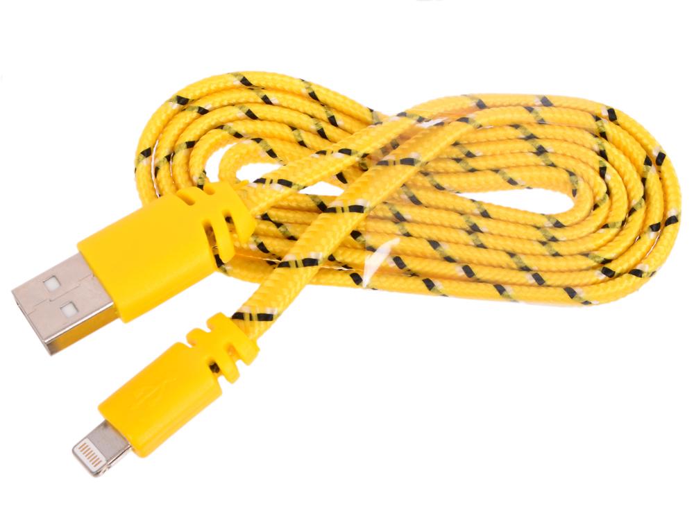 USB кабель LP для Apple 8 pin плоская оплетка (желтый/европакет) 0L-00030339 new 8 inch 40 pin hd lcd screen he080ia 01d free shipping
