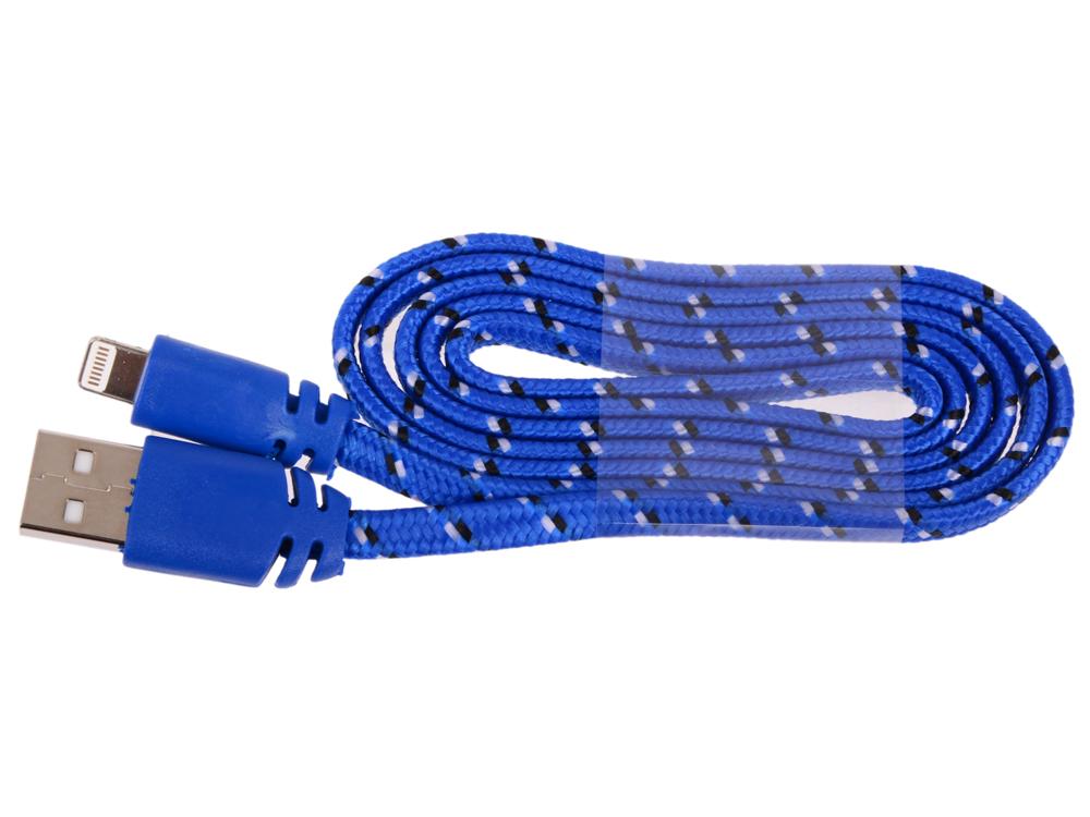 USB кабель LP для Apple 8 pin плоская оплетка (синий/европакет) 0L-00030337 new 8 inch 40 pin hd lcd screen he080ia 01d free shipping