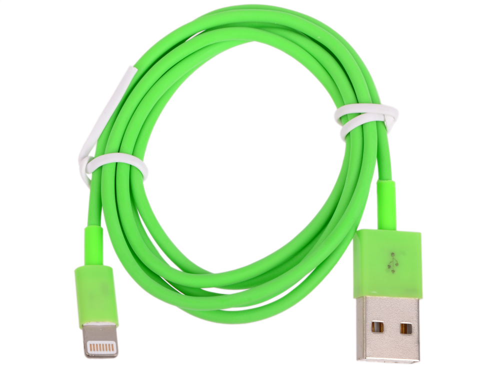 USB кабель LP для Apple iPhone/iPad 8 pin (зеленый/европакет) 0L-00002543 usb кабель lp для apple iphone ipad 8 pin розовый европакет 0l 00002538